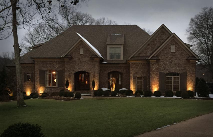 Blake Shelton Landscaping | Exterior Home Lighting